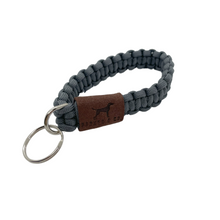 Load image into Gallery viewer, Paracord Keyfob Wristlet