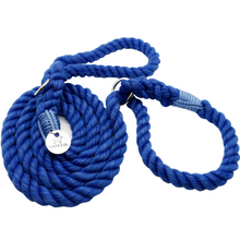 Load image into Gallery viewer, Cotton Rope Slip Leash