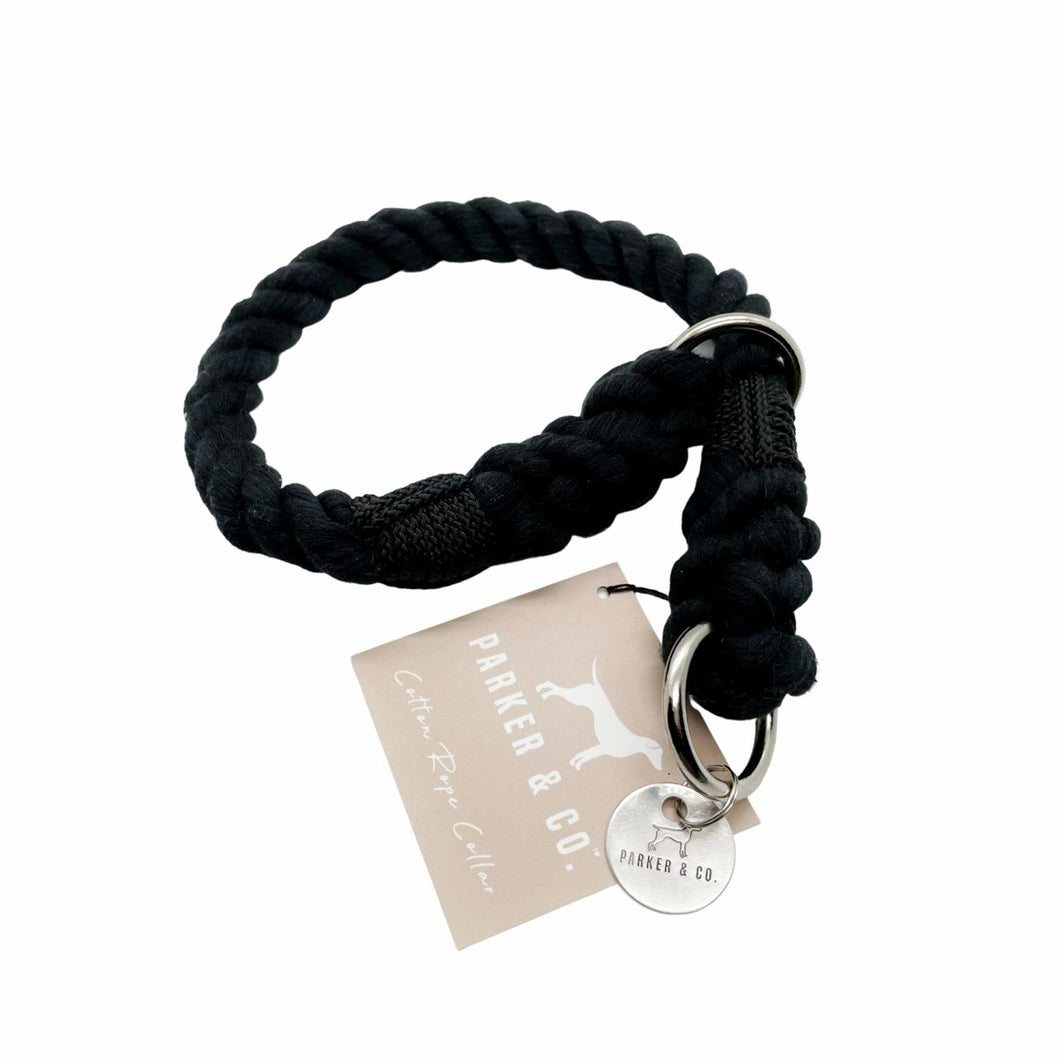 Cotton Rope Slip Collar