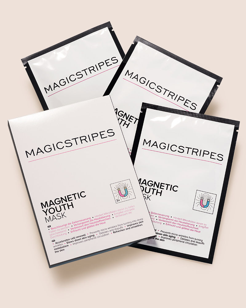 MAGNETIC YOUTH MASK - 3 MASKS - MAGICSTRIPES