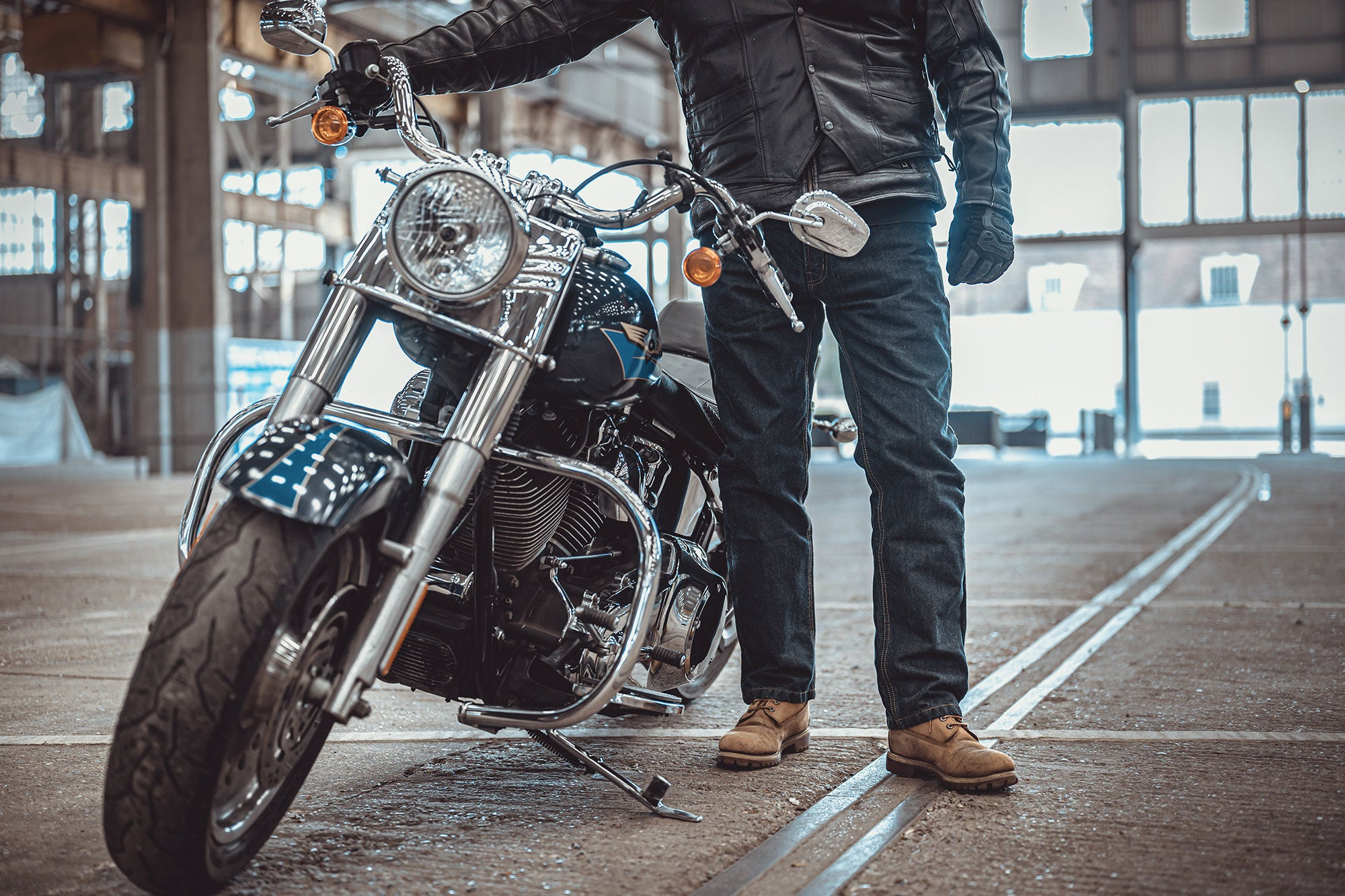 AA rated motorcycle jeans - Easyrider by Roadskin