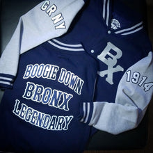 "Custom ""Bronx"" Letterman Jacket"