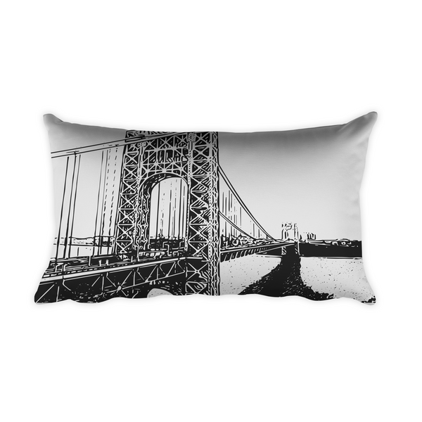 "Pillow - ""George Washington Bridge / Tokens"""
