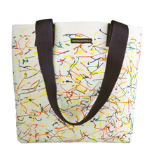 "Color Splash ""Nicole"" Tote"