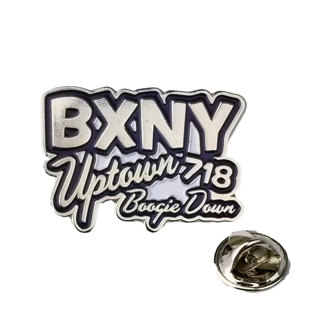 BXNY Boogie Down Pin