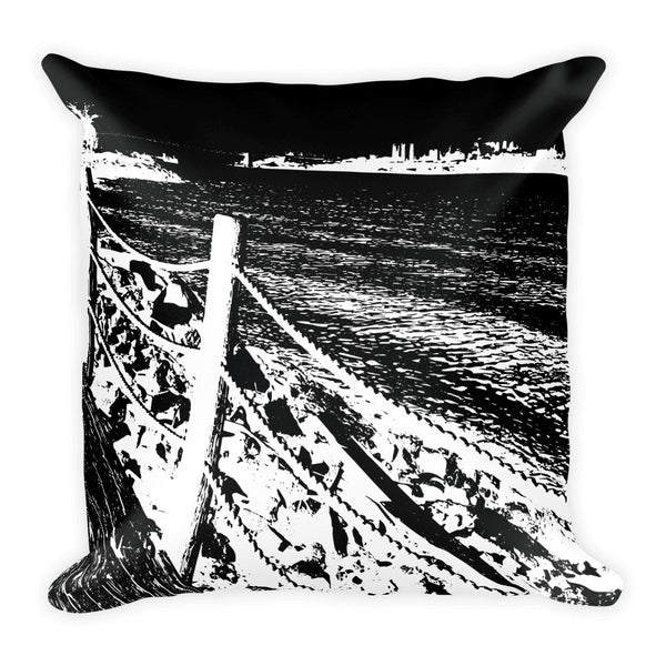 "Pillow - ""River View / Baroque"""