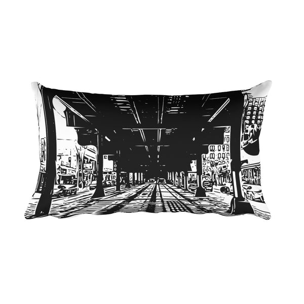 "Pillow - ""Elevated Tracks and Tokens"""