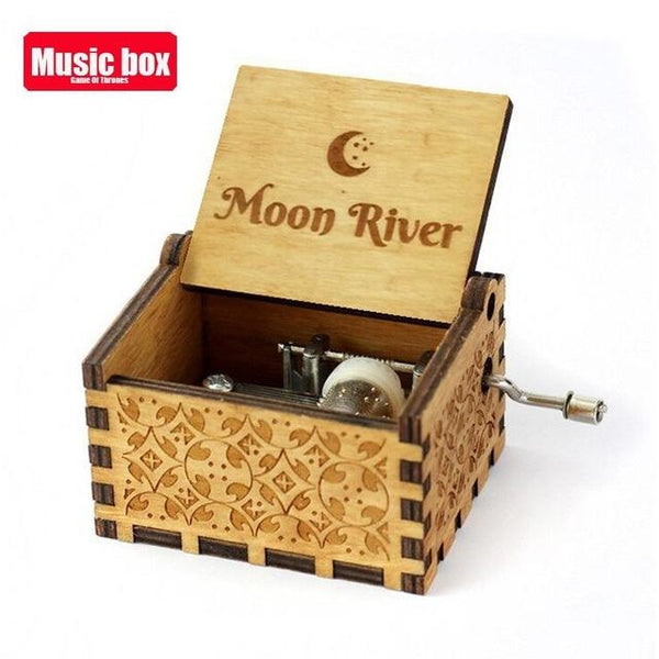 2021Newest You are my sunshine inspired quotes print Wooden Music Box Students Children Birthday Party favors Gift for kids