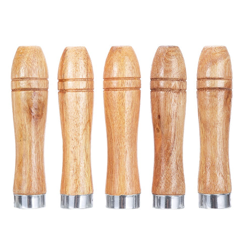5pcs Wood Replacement Accessories Woodworking File Handle Polishing Home Rust Proof Parts Tool Jewellery Accessories