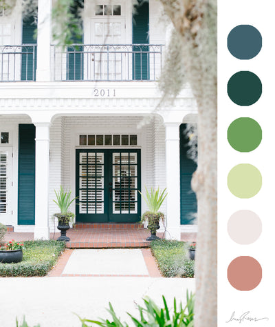 5 COLOR SCHEMES FOR LANDSCAPES.
