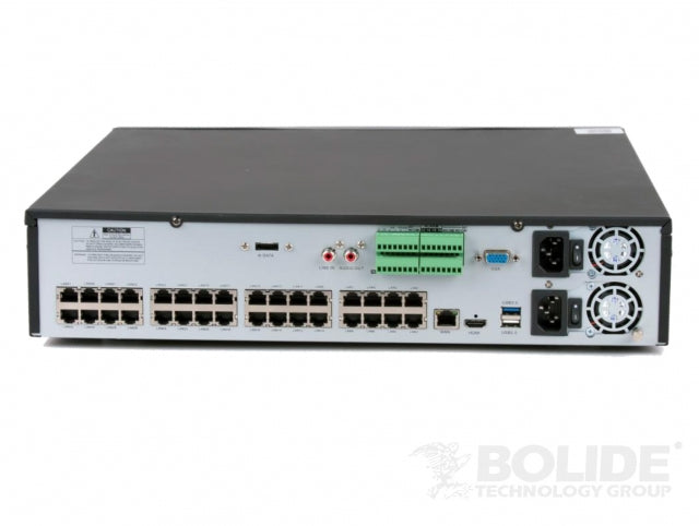 4K NVR 64-Channel 4K NVR | BN-NVR/64NXPOE | Bolide Technology Group | San Dimas, California