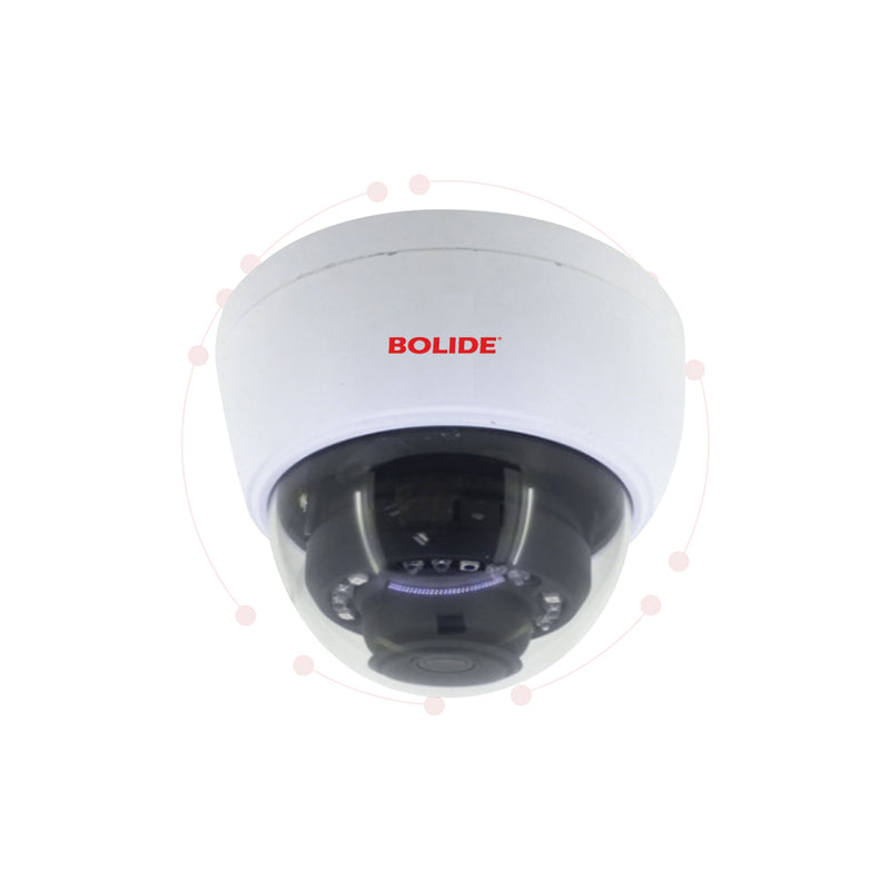 5MP 2.8mm Fixed Lens Vandal-Proof Dome Camera | BC1509AIR | Bolide Technology  Group | San Dimas, California