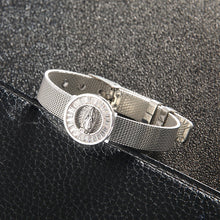 Load image into Gallery viewer, 2020 New Virgin Mary Stainless Steel Mesh Watch Belt Bracelet For Women Religious Women Belief Bracelet Gift