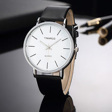Load image into Gallery viewer, Simple Style White Leather Watches Women Fashion Watch Minimalist Ladies Casual Wrist Watch Female Quartz Clock Reloj Mujer 2019