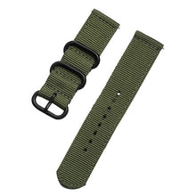 Load image into Gallery viewer, 20mm 22mm watch strap For Samsung Galaxy watch 46mm 42mm Active2 Active1 Gear S3 frontier Sports nylon nato strap