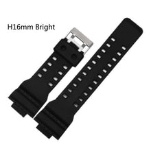 Load image into Gallery viewer, For casio Watches Watchband Silicone Rubber Bands EF Replace Electronic Wristwatch Band Sports Watch Straps 16mm 18mm 20mm 22mm