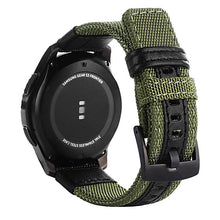 Load image into Gallery viewer, strap For Samsung Galaxy watch 3 46mm band gear s3 Frontier Classic nylon 22mm 20mm WatchWoven Nylon Band for 20mm 22mm Wrist