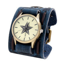 Load image into Gallery viewer, New Arrival Belt Strap Genuine Leather Watch Punk Retro Vintage Wide Wrap Men Bracelet For Women Jewelry Freely Shipping