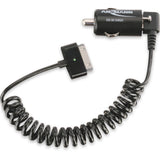 Ansmann Low-Profile USB Car Charger 1A with Apple Cable