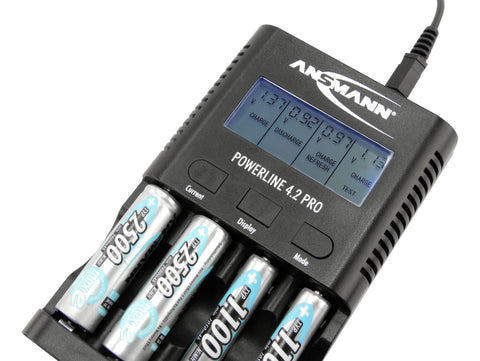Ansmann Powerline 4.2 Pro Battery Charger and Tester