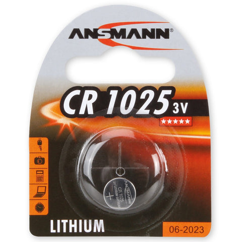 Lithium button cell CR1025