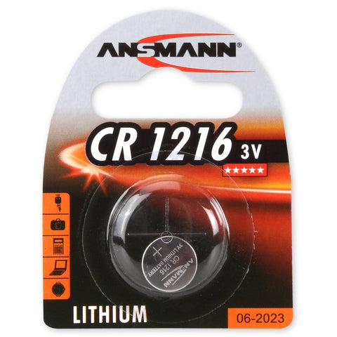 Lithium button cell CR1216
