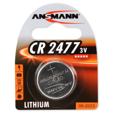 Lithium button cell CR2477