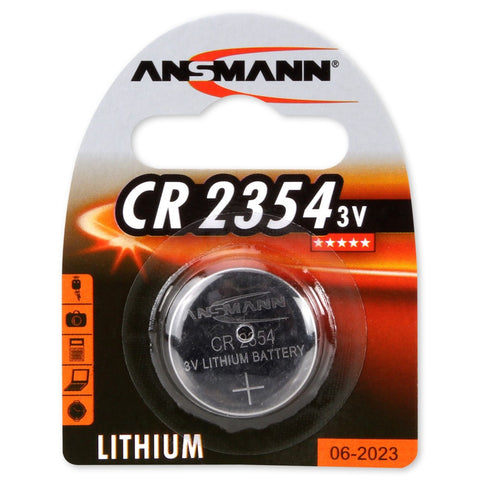 Lithium button cell CR2354