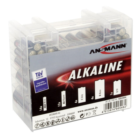 Alkaline Battery Box 35 pcs.