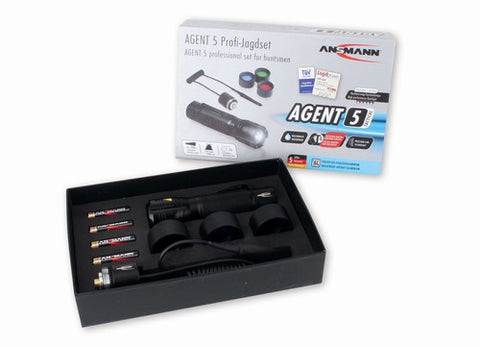 Ansmann Agent 5 Tactical Professional Set for Huntsmen