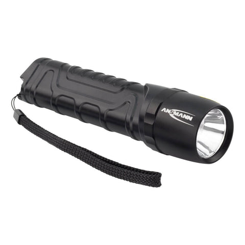 Ansmann 1600-0162 M900P Extremely Bright 930 Lm 10W LED Torch with High-Efficiency Reflector System