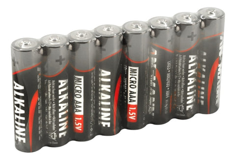 Alkaline Battery AAA Cell,  8 pk - shrink-wrapped