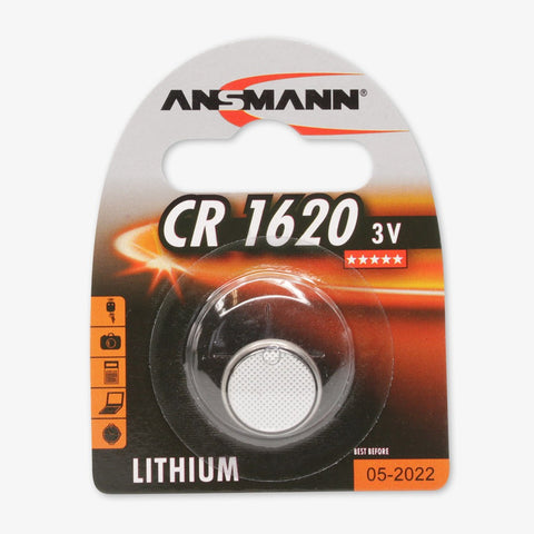 Lithium button cell CR1620