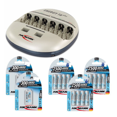 Energy 16 Plus Max E AA / 9V Kit