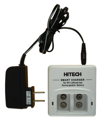 HiTech 9V Lithium Ion 2-Bank Charger