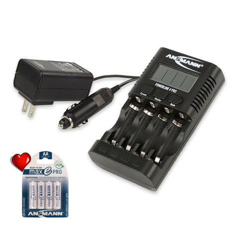 Powerline 4 Pro with 4 FREE Max E Pro Batteries