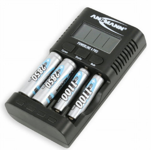 Ansmann Powerline 4 Pro Battery Charger and Tester