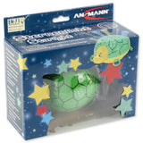 ANSMANN Starlight Turtle Nightlight Projects Constellations Multicolor LED Sleeping Aid for Babies