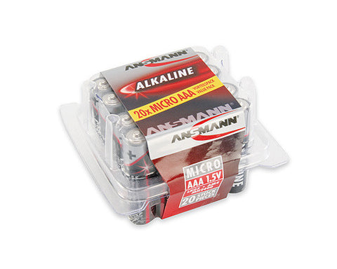 Value Pack AAA Alkaline Batteries 20 pc