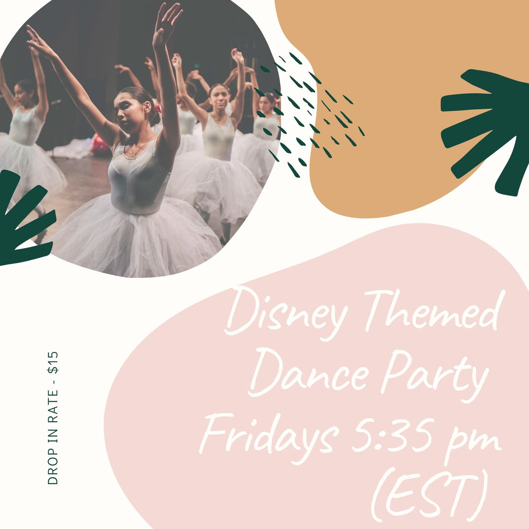 Disney Themed Dance Party!