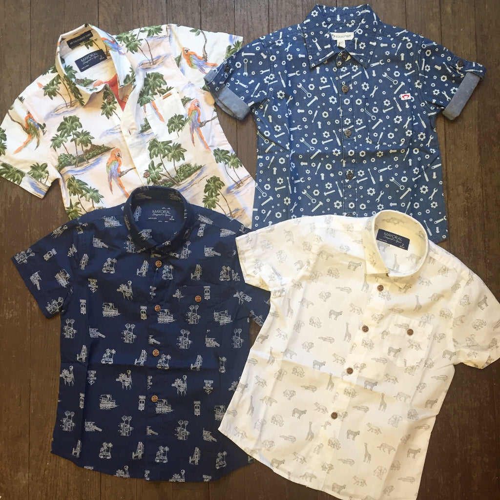 New for Boys... A Plethora of Prints!