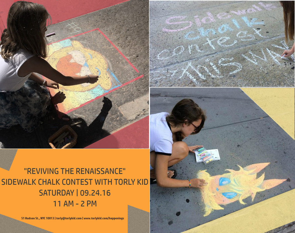 Join us! Sidewalk Chalk Contest 2016