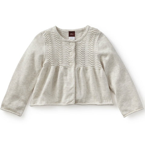 Tea Collection Cadenza Pointelle Cardigan
