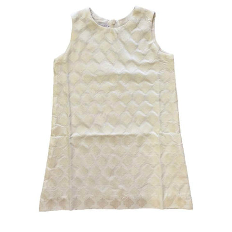 Victoria Road mini Audrey shift off white