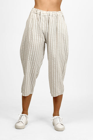 Folie Stripe Trousers