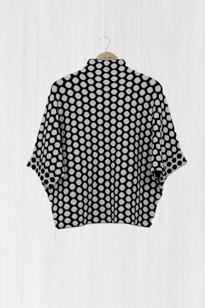 Polka Dot Knitted Top