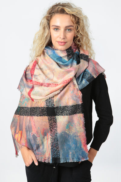 Ceres Modern Art Scarf