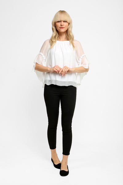 Ethereal Silk Blouse