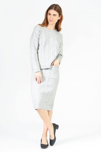 Aria Knitted Skirt