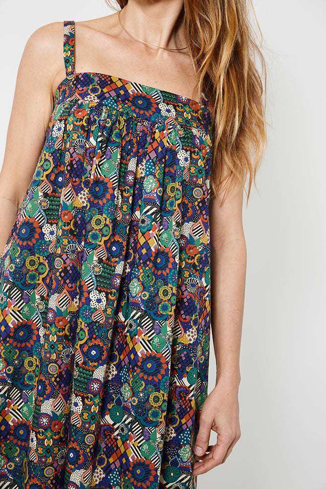 Flora Sundress: World's Collide